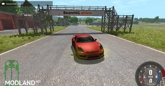 Porsche Cayman GT4 [0.6.0]